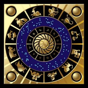 Circle of zodiac